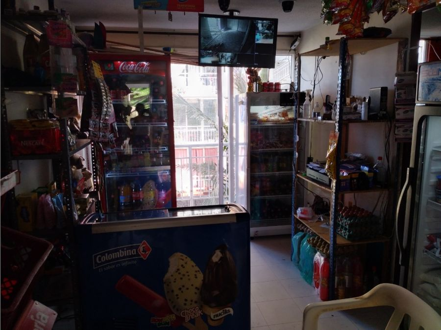 apartamento con negocio en venta la aurora