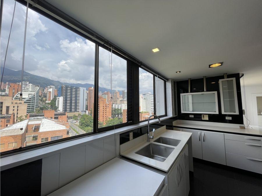 penthouse en el poblado vista inigualable venta
