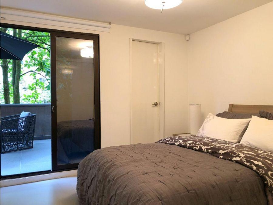 apartamento amoblado en venta en provenza poblado