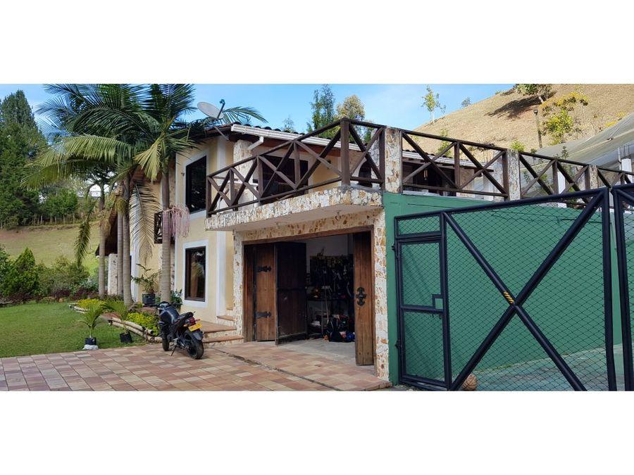 casa campestres en venta vereda la honda guarne antioquia