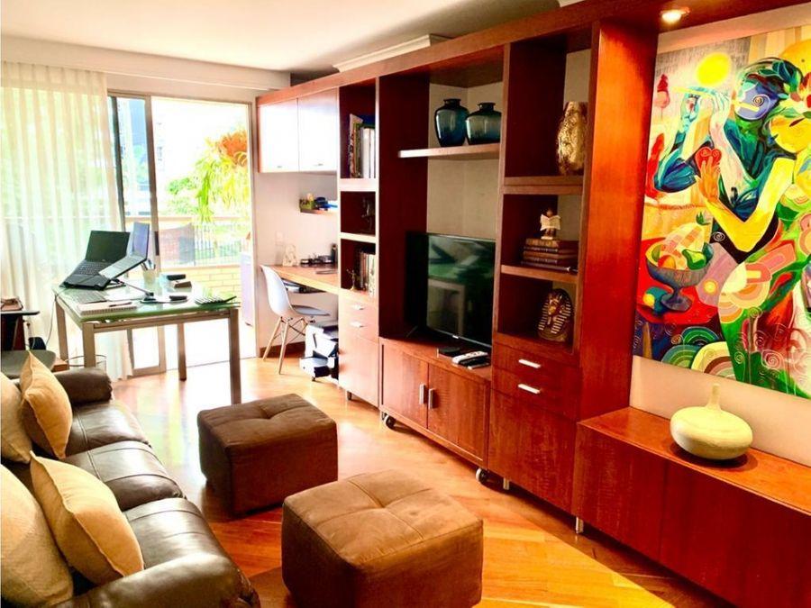 apartamento en venta en san lucas el poblado