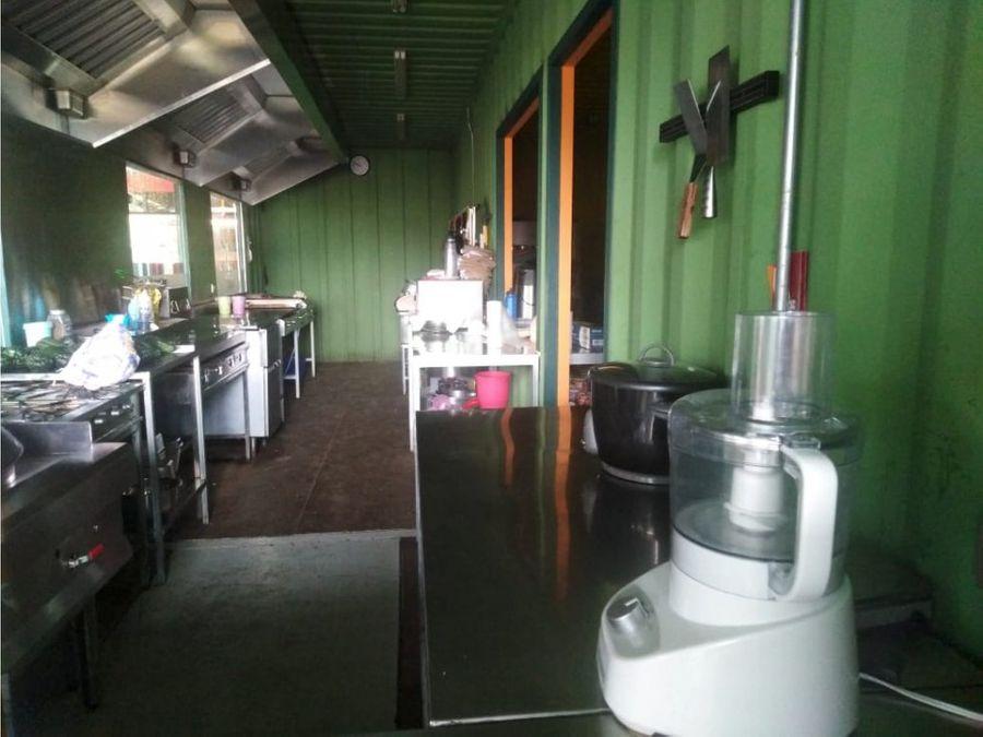 excelente restaurante en carretera a el salvador