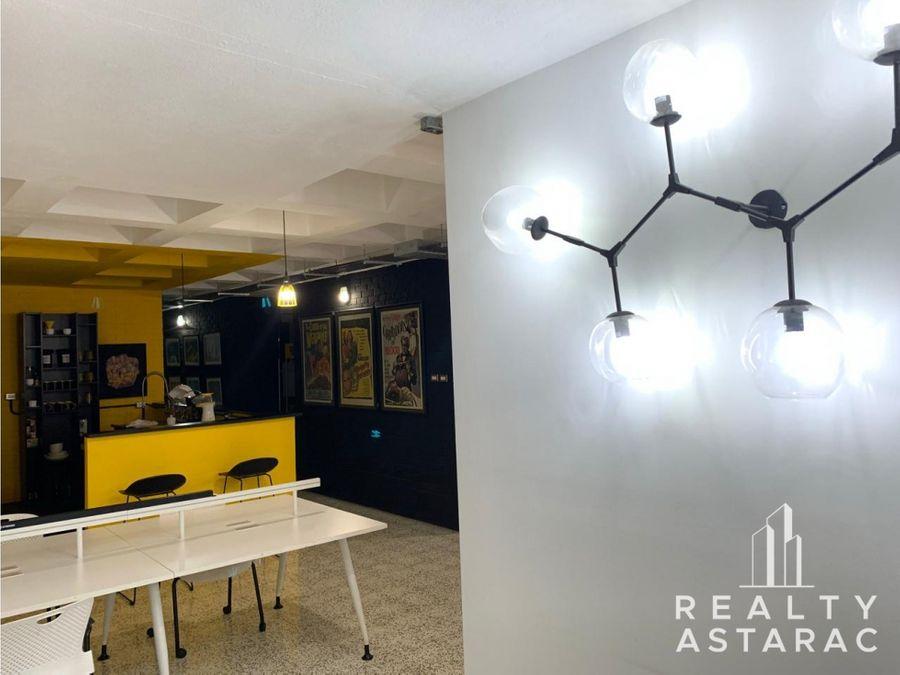 oficina de 6 ambientes en edificio obelisco zona 13