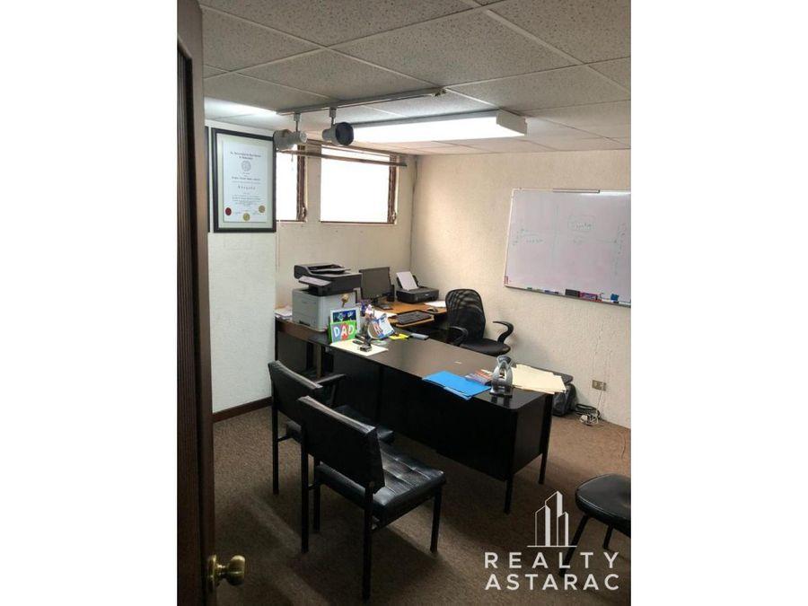 oficina en avenida reforma zona 9