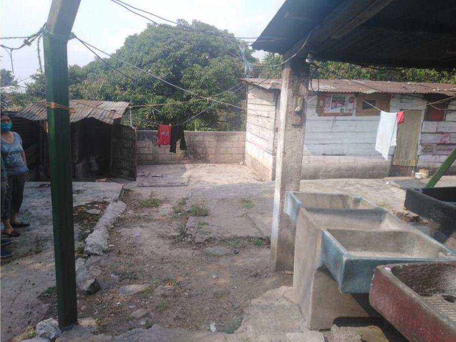 terreno a la orilla de carretera interamericana mixco