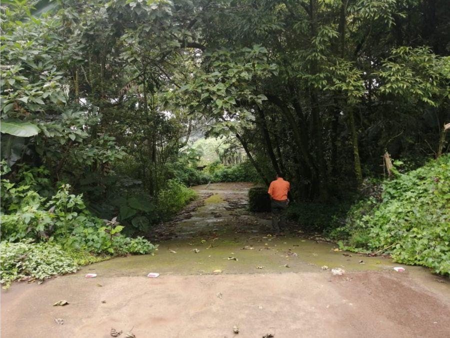 terreno en km 30 carretera a el salvador
