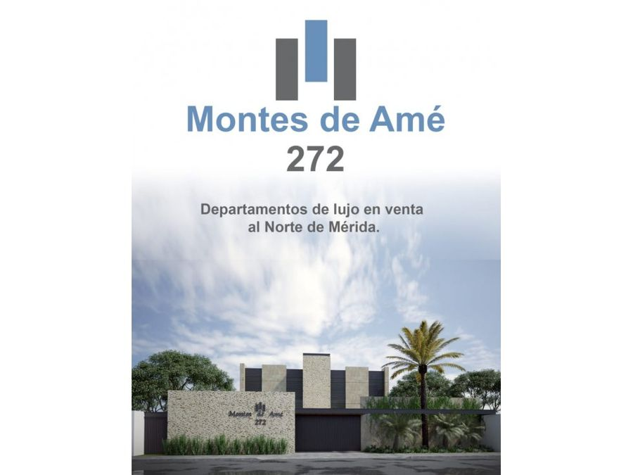 departamentos de lujo en montes de ame 272