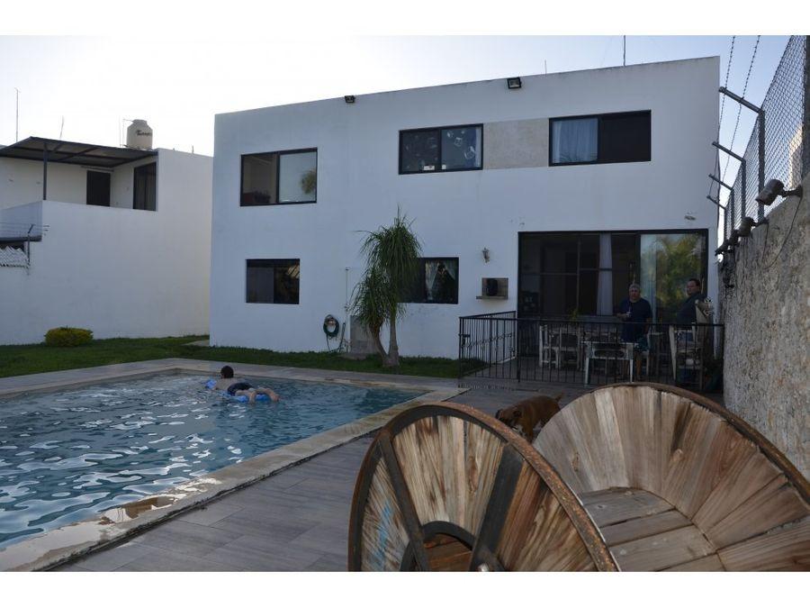 magnifica casa con gran terreno en conkal