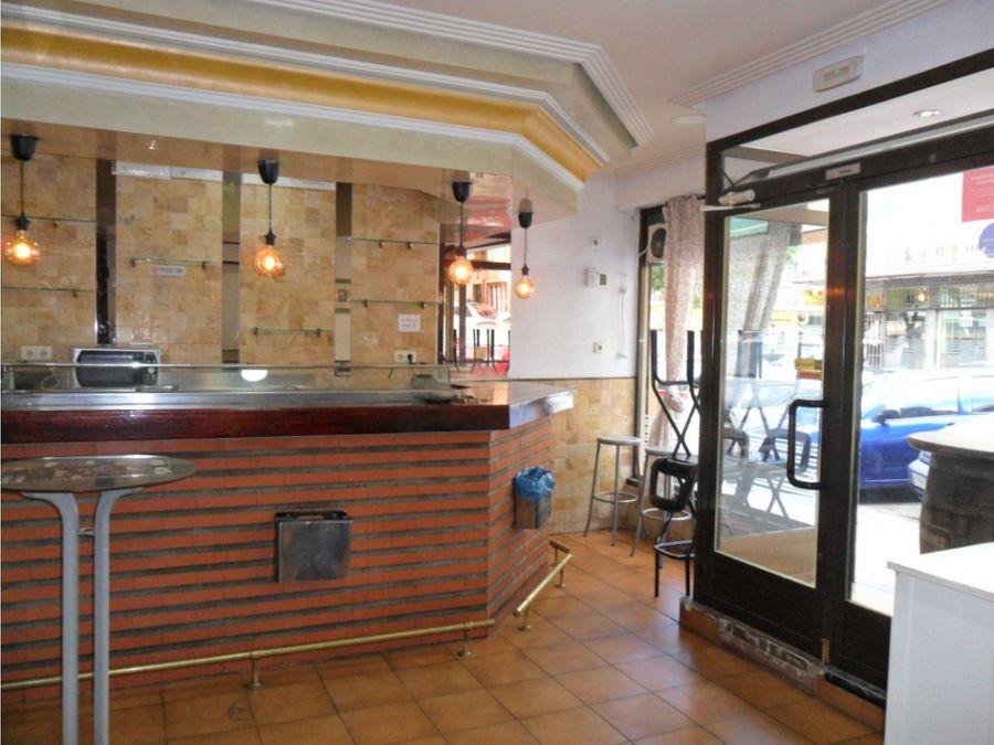 vendo bar restaurante en entrevias madrid m 157