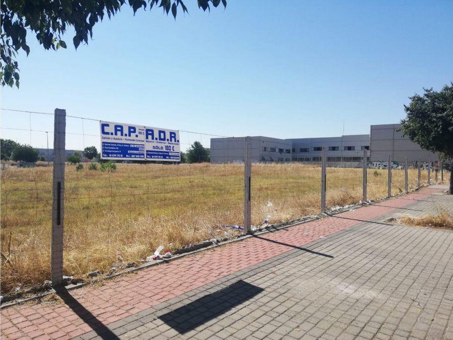 vendo suelo industrial logistico madrid m 84