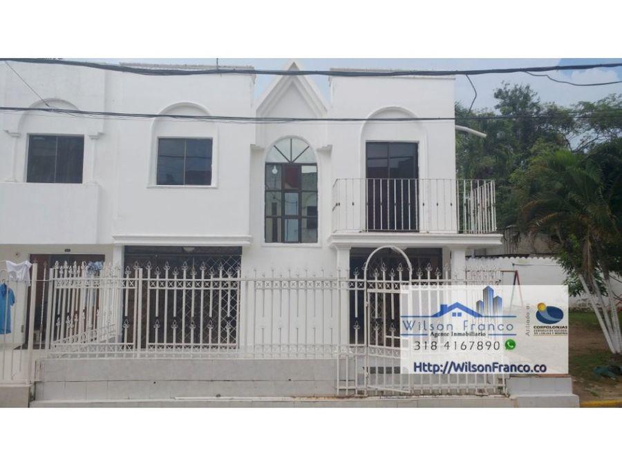 casa en venta conjunto cerrado sector el recreo cartagena
