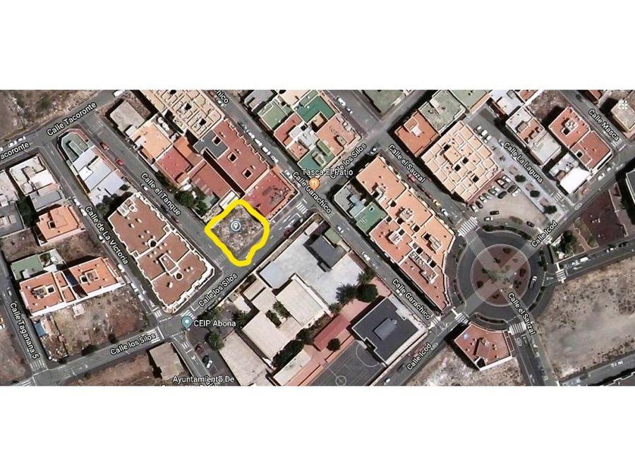 terreno urbano en san isidro