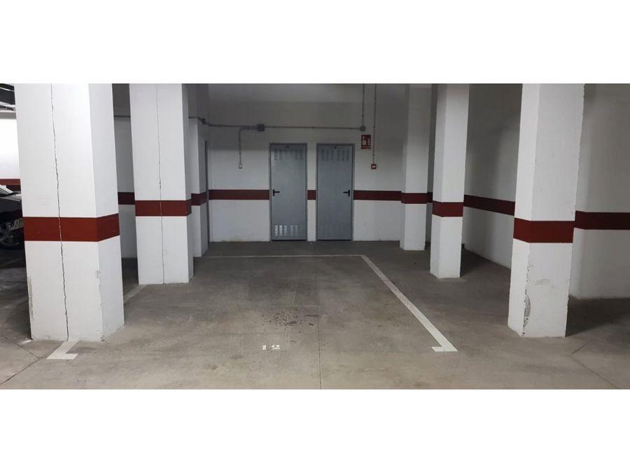 alquiler plaza de garaje en punta del hidalgo