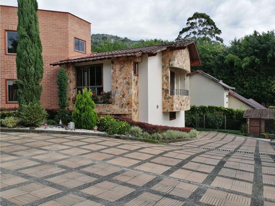 venta casa independiente loma del chocho envigado