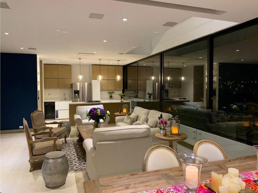 venta penthouse duplex en san lucas poblado medellin