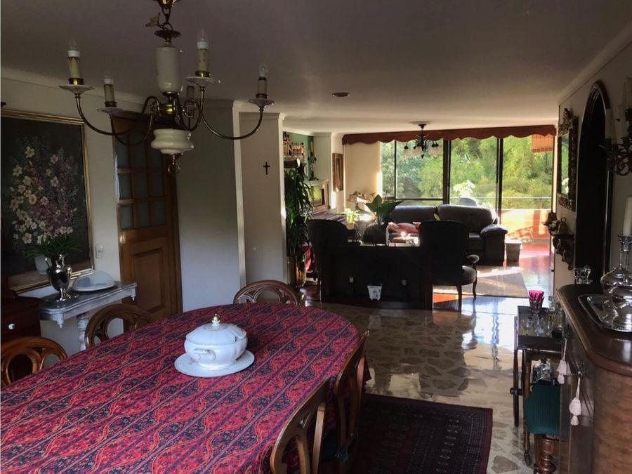 venta de apartamento remodelado el tesoro poblado medellin
