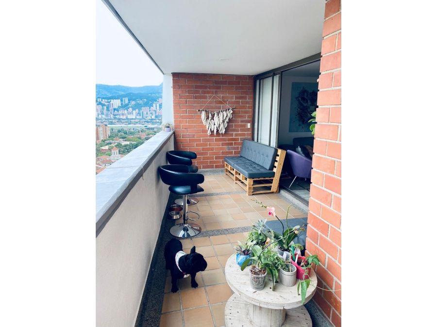 venta de apartamento loma de los bernal parte baja medellin