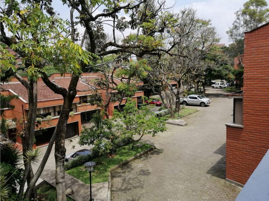 venta de casa unifamiliar en el tesoro poblado medellin