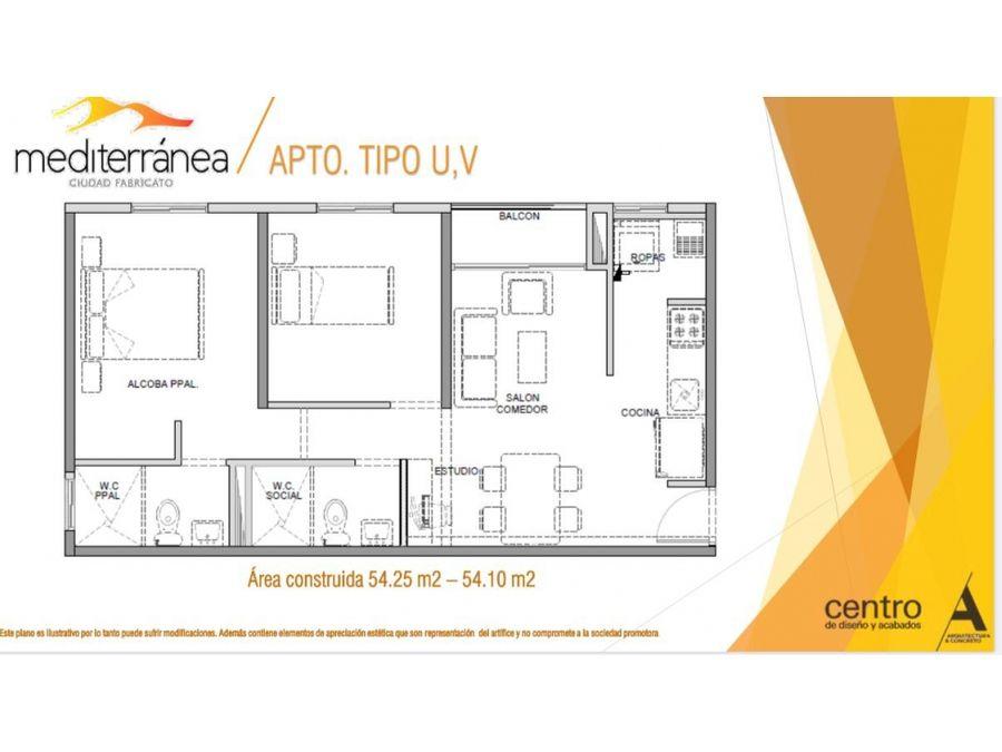 cesion de derechos apartamento en proyecto mediterranea bello