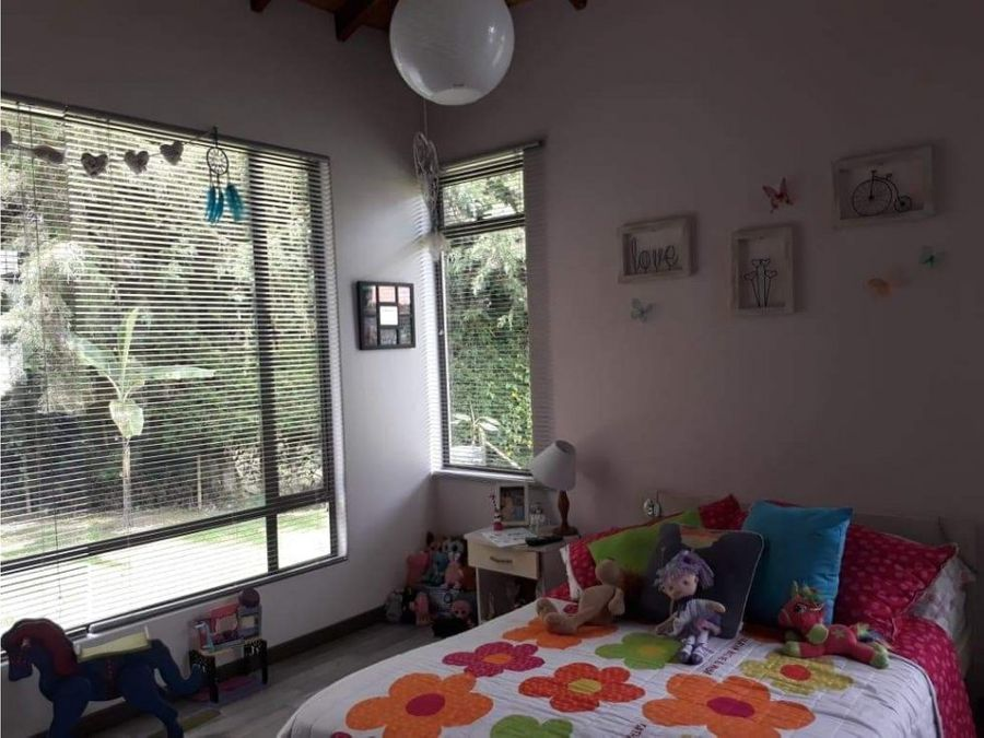 venta casa campestre independiente alto del escobero envigado