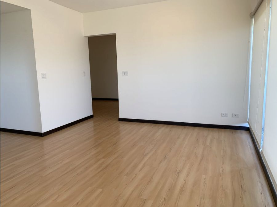 apartamento con vistas 2 dormitorios la sabana