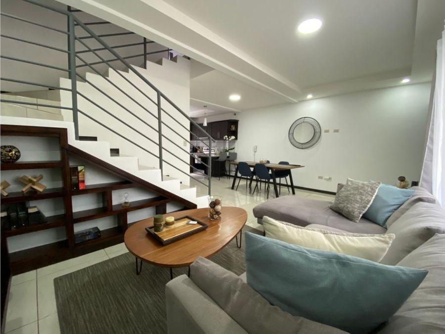 venta de casa en residencial verde vista san ramon de tres rios