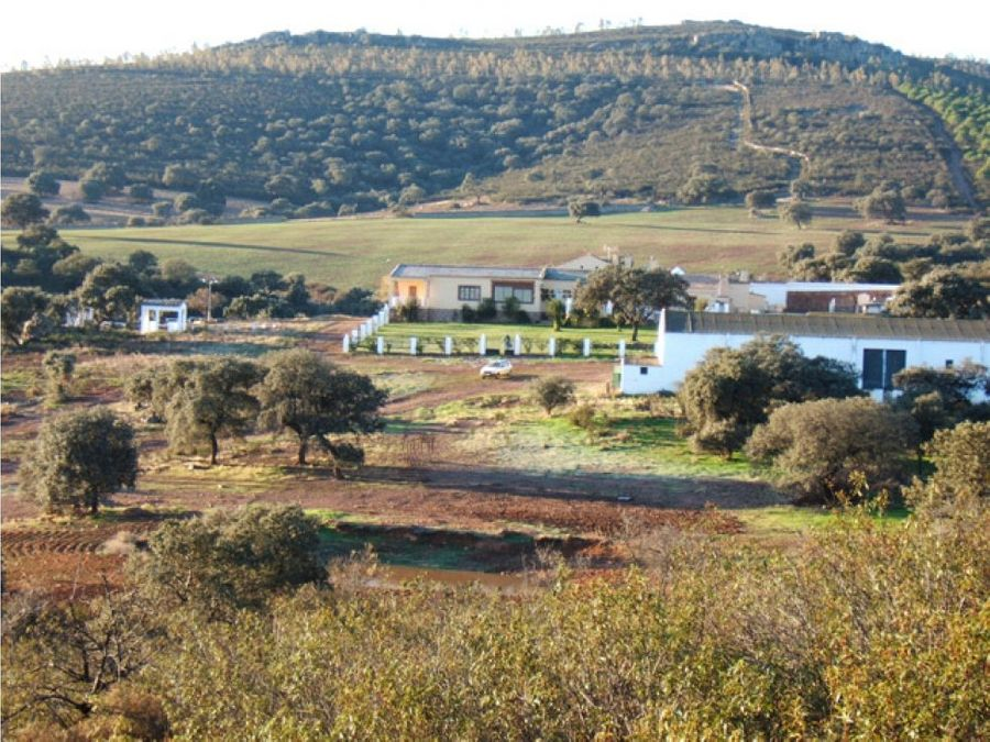 casas rurales y fincas en badajoz