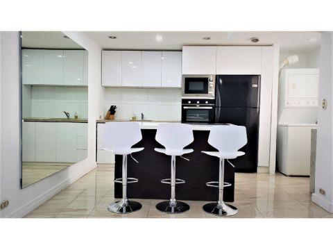 lindo apartamento amoblado con finos acabados en condominio