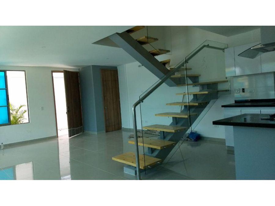 venta casa nueva en barranquilla barrio paraiso