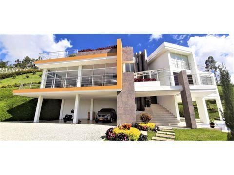 casa finca nueva en venta en el penol