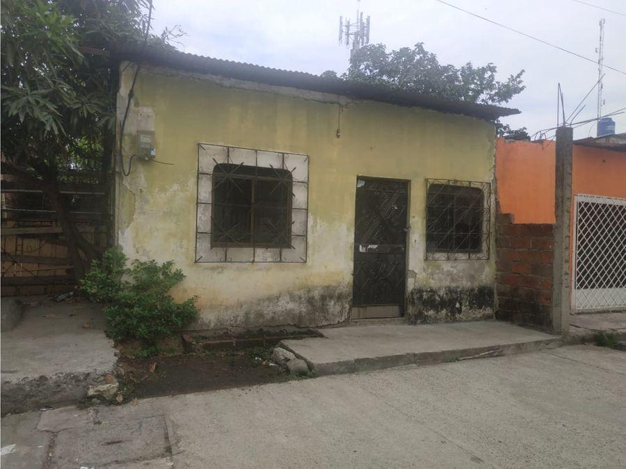 venta casa canton duran recreo una planta dos dormitorios