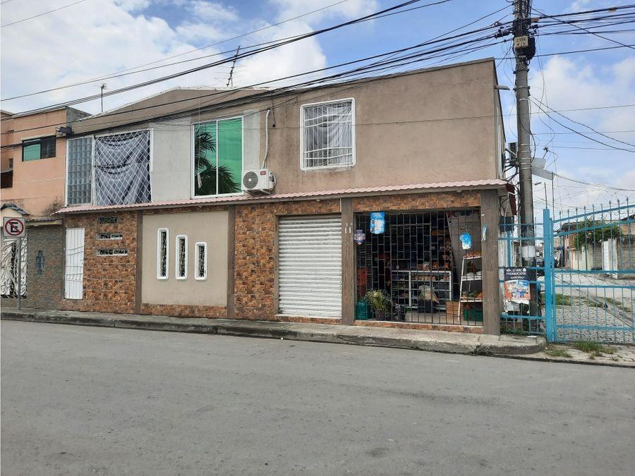 venta casa rentera comercial mucho lote 1 etapa 4 norte guayaquil