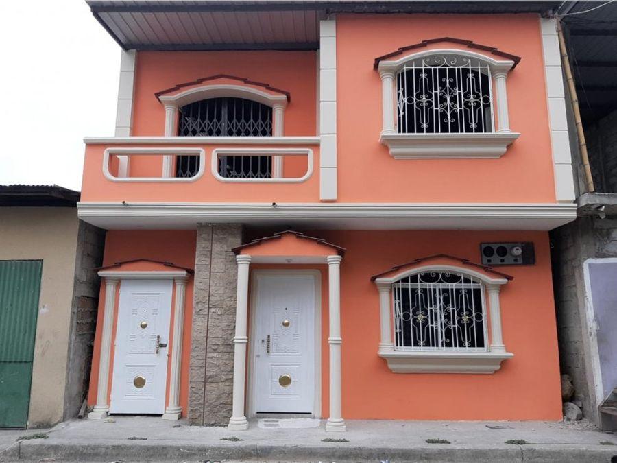 venta de casa en pascuales paquisha