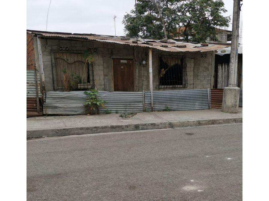 venta de solar con construccion en coop el fortin norte de guayaquil