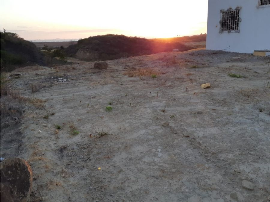 solar terreno en venta urb taos punta blanca prov santa elena