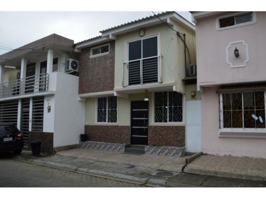 casa en venta urb plaza victoria mucho lote 2 norte de guayaquil