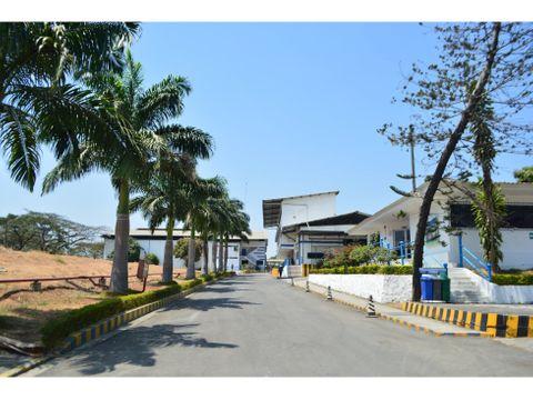 venta de parque industrial en la via a daule