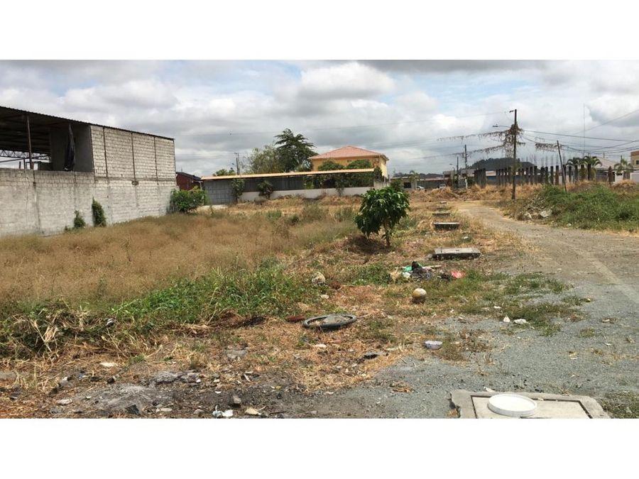 venta de terreno urb la delicia via samborondon