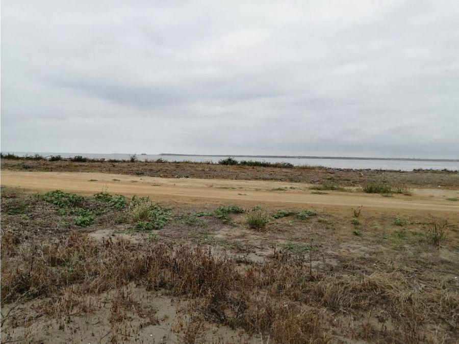 venta de terreno balneario punta arenas prov santa elena