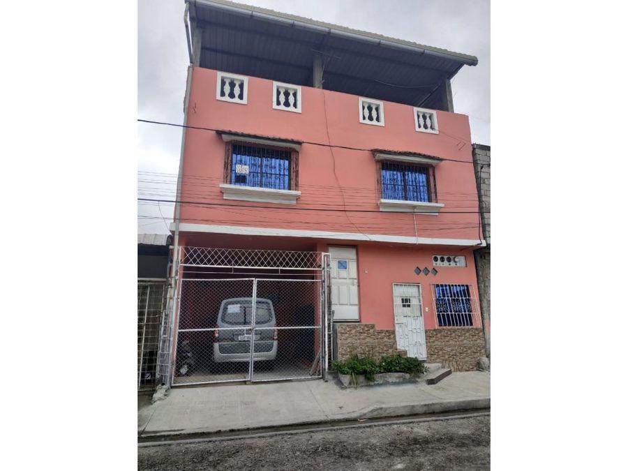 venta casa guasmo coop virgen de monserrate
