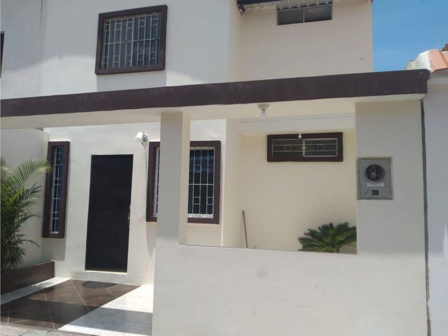 ca 031 venta de casa urb ciudad santiago etapa la ria via a daule