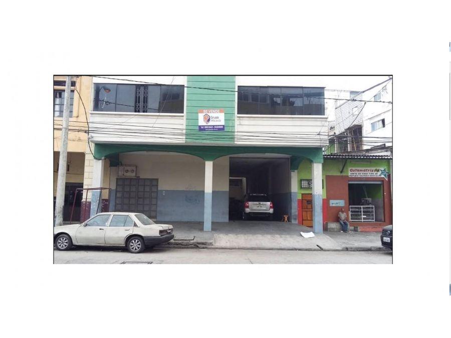 venta de edificio de 4 pisos en av del ejercito