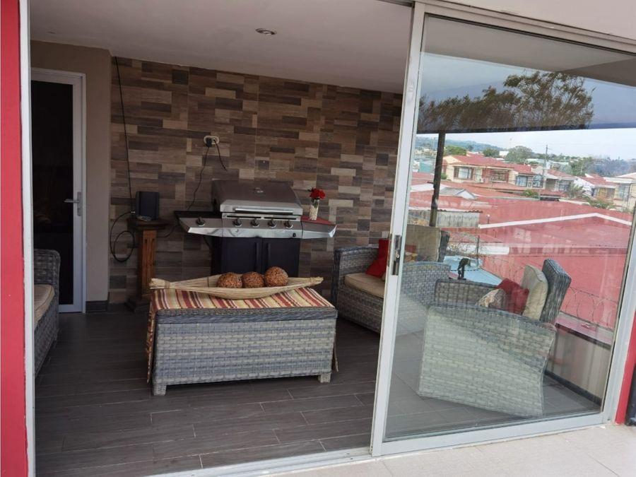 alquiler de casa amueblada en residencial en san pablo de heredia