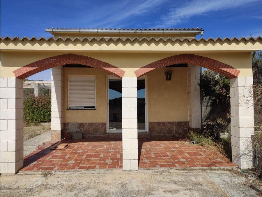 chalet ideal seconda residencia con 3 habitaciones