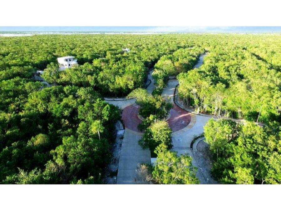 terreno habitacional desarrollo playa del carmen