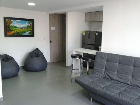 apartamento en venta de 58 m2 aliadas sabaneta