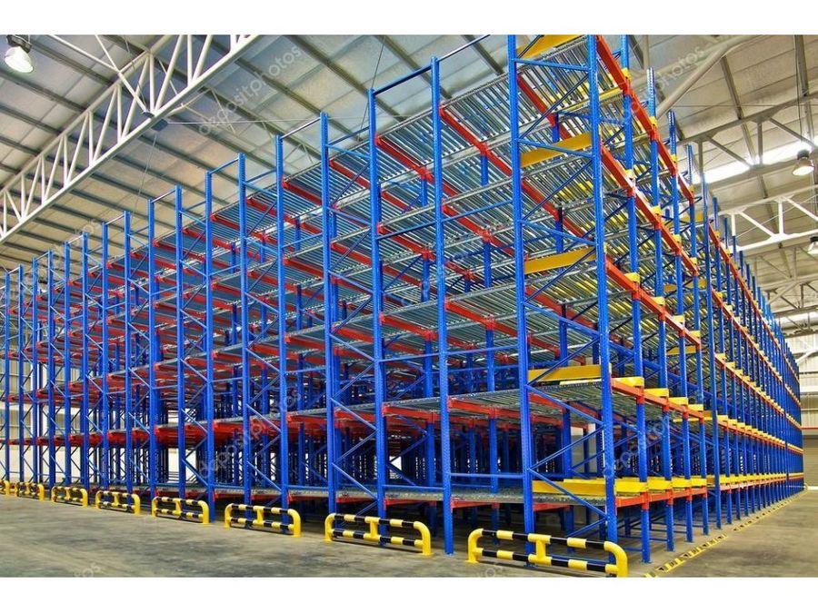 venta de racks selectivos altura 60 metros
