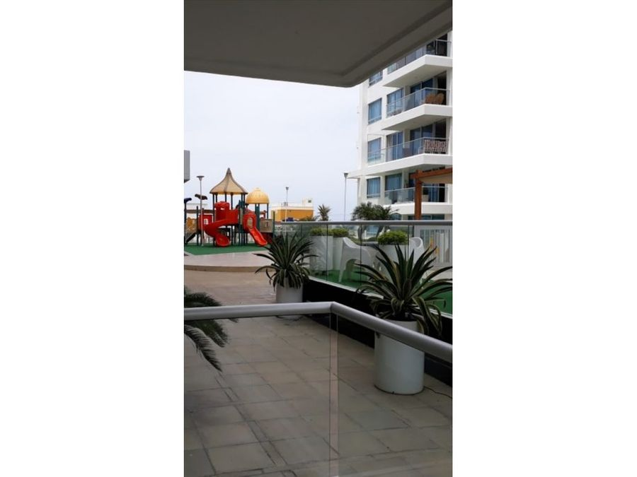 apartamento en arriendo edificio portocastelo cartagena con vista