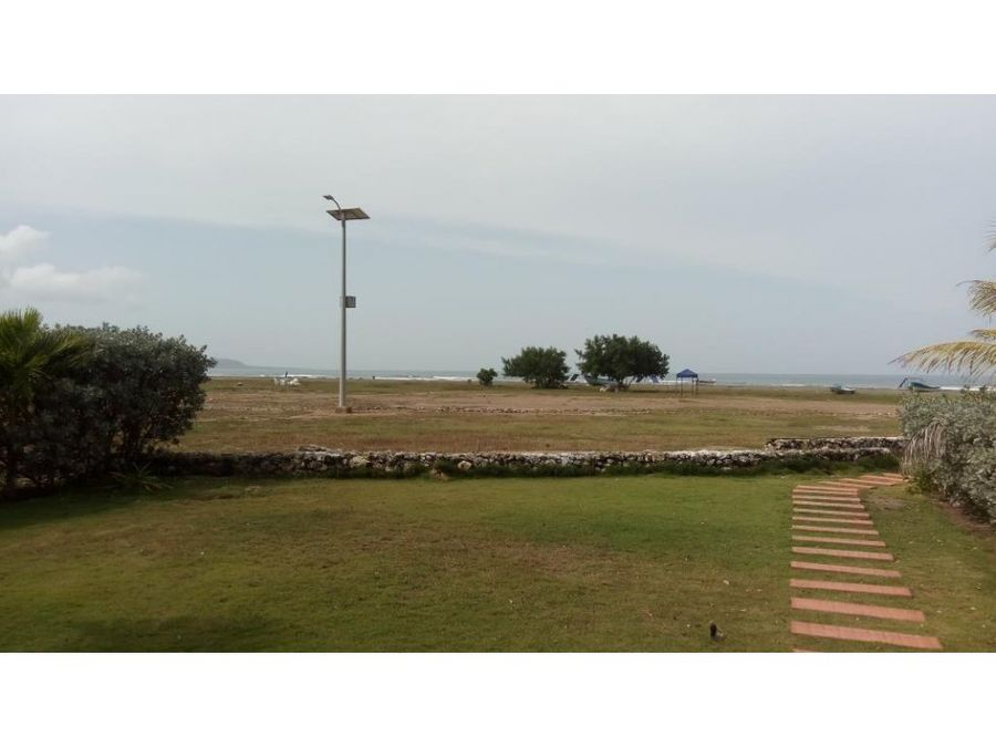 casa de playa en cartagena loma arena