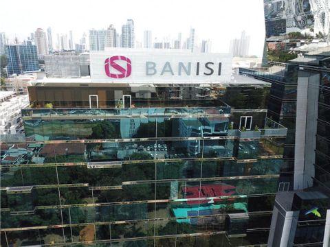 alquilo oficina en obarrio 1000 mt2 torre banisi